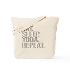 Eat Sleep Yoga Repeat Tote Bag