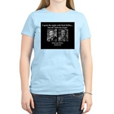Walt Willey's Wild and Willey Comedy Tour T-Shirt