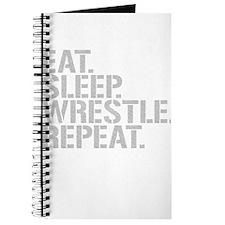 Eat Sleep Wrestle Repeat Journal