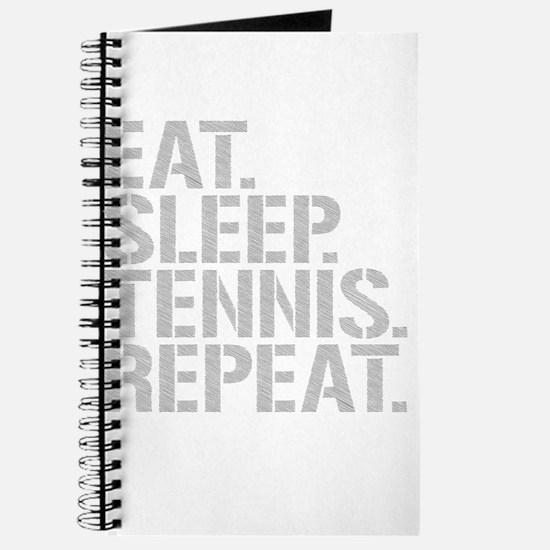 Eat Sleep Tennis Repeat Journal