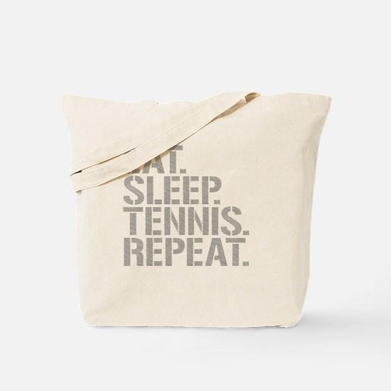 Eat Sleep Tennis Repeat Tote Bag