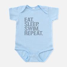 Eat Sleep Swim Repeat Body Suit