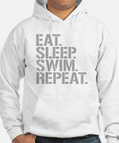 Eat Sleep Swim Repeat Hoodie
