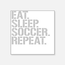 Eat Sleep Soccer Repeat Sticker
