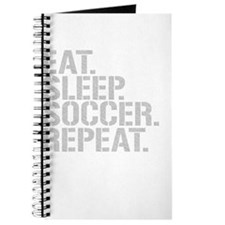 Eat Sleep Soccer Repeat Journal