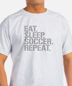 Eat Sleep Soccer Repeat T-Shirt