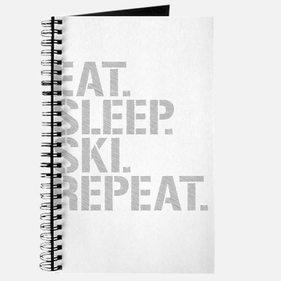 Eat Sleep Ski Repeat Journal