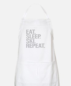 Eat Sleep Ski Repeat Apron