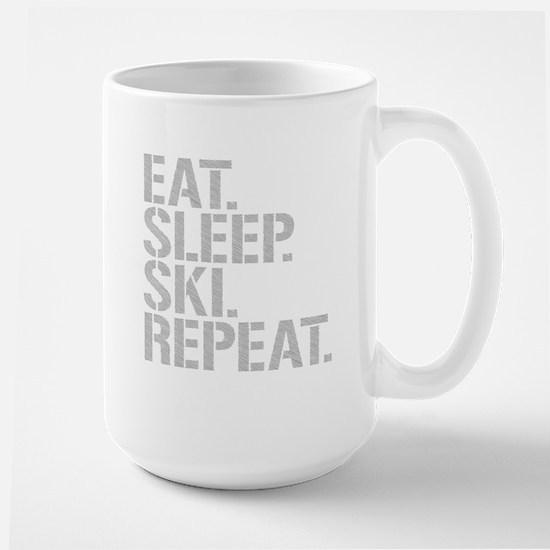 Eat Sleep Ski Repeat Mugs