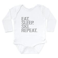 Eat Sleep Ski Repeat Body Suit