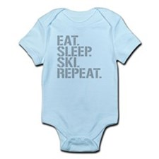 Eat Sleep Ski Repeat Body Suit