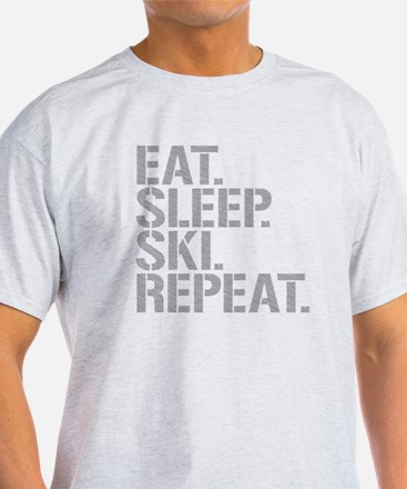 Eat Sleep Ski Repeat T-Shirt