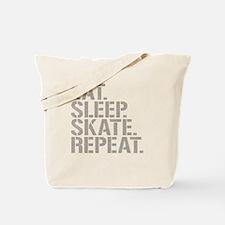 Eat Sleep Skate Repeat Tote Bag