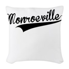 Monroeville, Retro, Woven Throw Pillow
