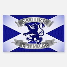 tartan army range  Decal