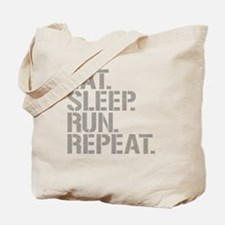 Eat Sleep Run Repeat Tote Bag