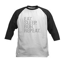 Eat Sleep Run Repeat Baseball Jersey