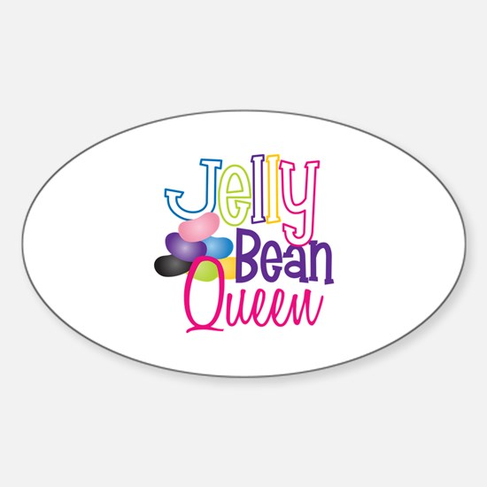 Jelly Bean Queen Decal