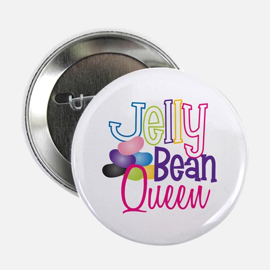"Jelly Bean Queen 2.25"" Button"