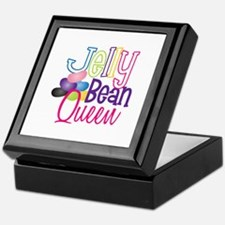 Jelly Bean Queen Keepsake Box