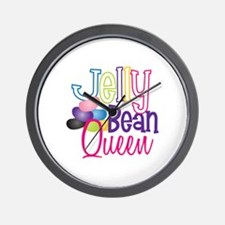 Jelly Bean Queen Wall Clock