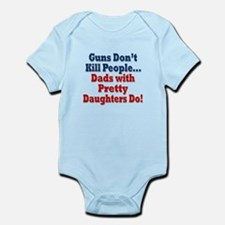 Dads with Pretty Daughters Funny Fathers Day Body