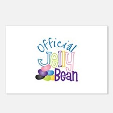 Official Jelly Bean Postcards (Package of 8)