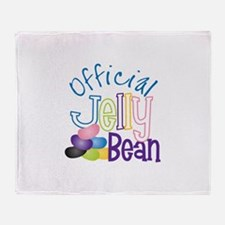 Official Jelly Bean Throw Blanket