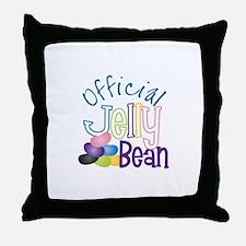 Official Jelly Bean Throw Pillow