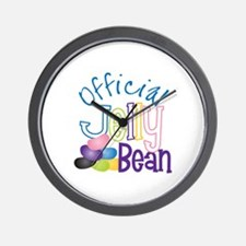 Official Jelly Bean Wall Clock