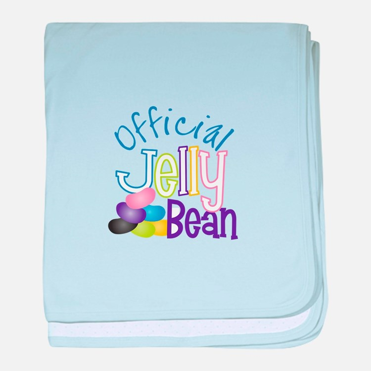 Official Jelly Bean baby blanket