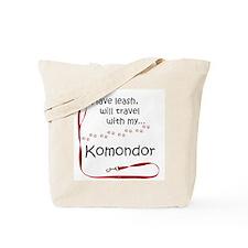 Komondor Travel Leash Tote Bag