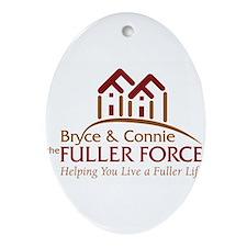 Fuller Force Logo Ornament (Oval)