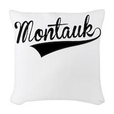 Montauk, Retro, Woven Throw Pillow