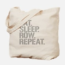 Eat Sleep Row Repeat Tote Bag