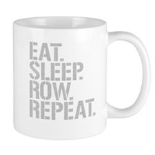 Eat Sleep Row Repeat Mugs