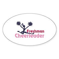 Freshman cheerleaders Decal