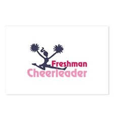 Freshman cheerleaders Postcards (Package of 8)