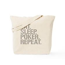 Eat Sleep Poker Repeat Tote Bag