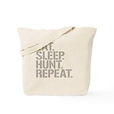 Eat Sleep Hunt Repeat Tote Bag