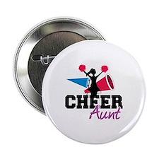 """Cheer aunt 2.25"""" Button"""