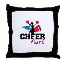 Cheer aunt Throw Pillow