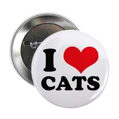 I Heart Cats Button