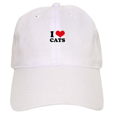 I Heart Cats Cap