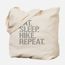 Eat Sleep Hike Repeat Tote Bag