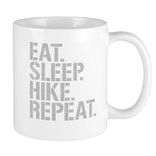 Eat Sleep Hike Repeat Mugs