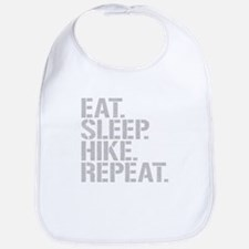 Eat Sleep Hike Repeat Bib