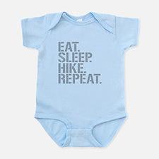 Eat Sleep Hike Repeat Body Suit