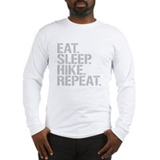 Eat Sleep Hike Repeat Long Sleeve T-Shirt