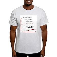 Kuvasz Travel Leash T-Shirt